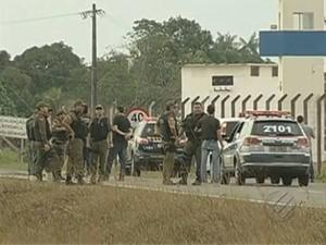 Rebelião Santa Izabel (Foto: Reprodução/TV Liberal)
