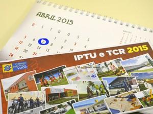 Prazo para pagamento do IPTU com desconto foi prorrogado até 7 de abril (Foto: Krystine Carneiro/G1)