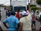 Agricultores fazem protesto em frente à sede da Conab em João Pessoa