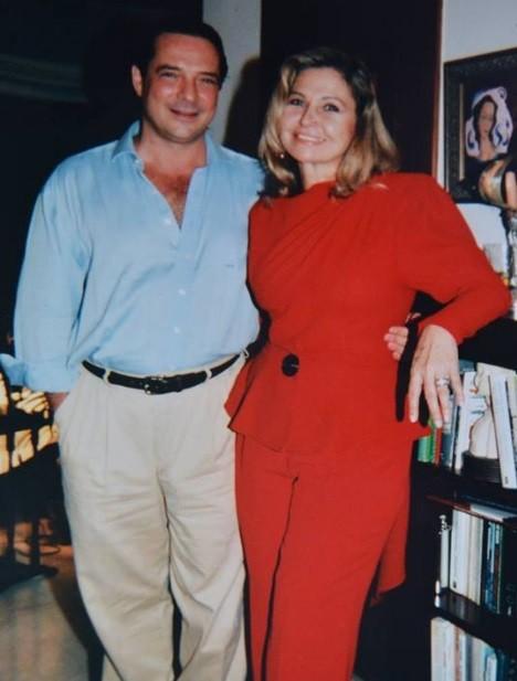 Pepita e o marido, Javier (Foto: Reprodução)