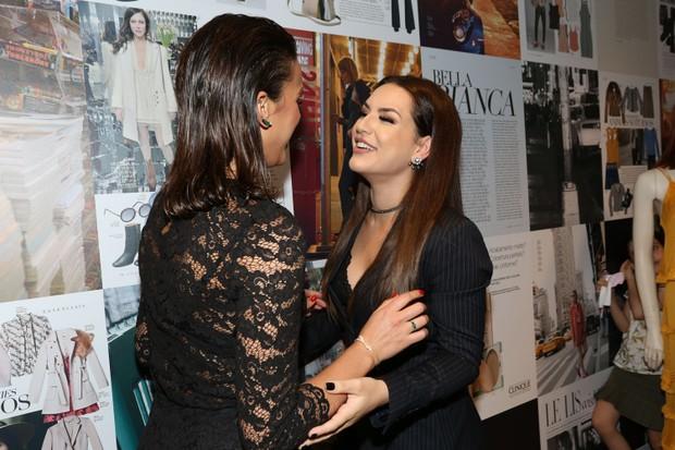 Bruna Marquezine e Kéfera (Foto: Celso Tavares / EGO)