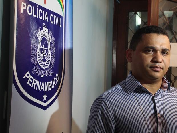 Degelado Marceone Ferreira assumiu as investigações do caso Beatriz (Foto: Taisa Alencar / G1 )