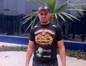 Fábio Maldonado, lutador sorocabano do UFC (Foto: Roberto Fernandes)