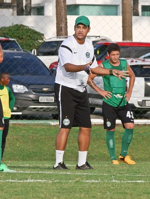 Marquinhos Santos Coritiba treino (Foto: Divulgação / Site oficial do Coritiba)