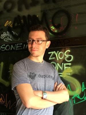 Luis von Ahn, um dos criadores do aplicativo de educação Duolingo, que mescla a lógica dos games com o ensino de idiomas. (Foto: Divulgação/Duolingo)