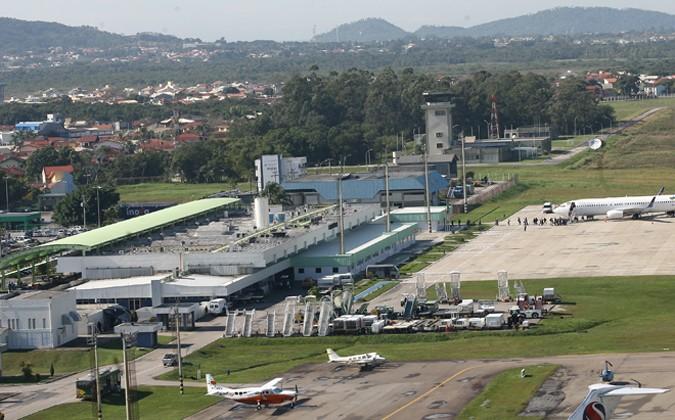 Aeroporto Hercílio Luz (Foto: Infraero/Divulgação)