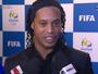 Ronaldinho diz confiar no ouro e torce por presença de Neymar nos Jogos
