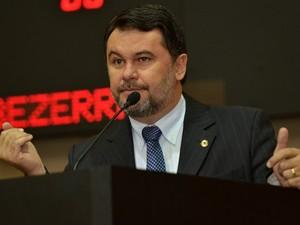 O deputado estadual Oscar Bezerra (PSB). (Foto: Maurício Barbant / ALMT)
