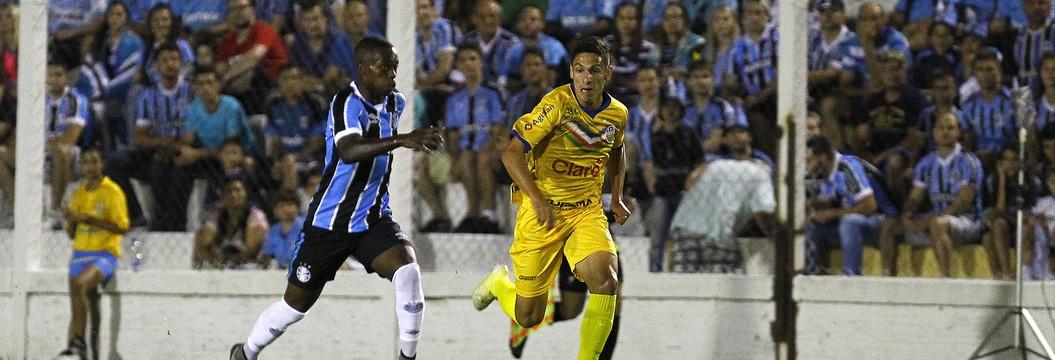 Grêmio bate o Veranópolis  e vence a terceira no Gauchão (Lucas Uebel / Grêmio / Divulgação)