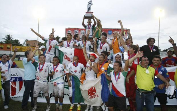 Cametá conquista o primeiro turno do Campeonato Paraense 2012 (Foto: Marcelo Seabra/O Liberal)