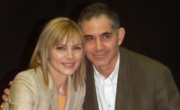 A atriz Kim Cattrall e seu ex-marido (Foto: Getty Images)