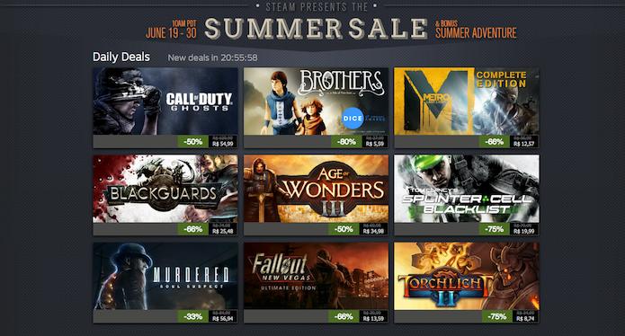 Steam Summer Sale: Fallout e Brothers estão nas ofertas de hoje (Foto: Reprodução)