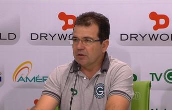 Invicto, Enderson celebra vitória, mas diz que Goiás ainda precisa de ajustes