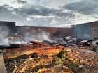Incêndio atinge loja de peças em Santa Maria da Boa Vista, PE