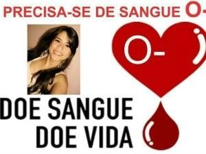 Campanha pede doação para jovem (Foto: Reprodução/Facebook)