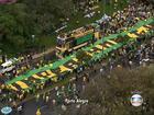 Dilma reúne ministros neste domingo para discutir protestos no país