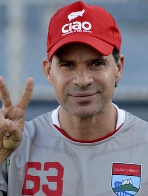 Túlio Maravilha, atacante da Vilavelhense (Foto: Chico Guedes/A Gazeta)