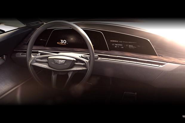 Conceito da Cadillac (Foto: Reprodução/Youtube)