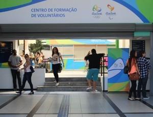 Centro de formação de voluntários para o jogos olímpicos na Paraíba, João Pessoa (Foto: Divulgação)