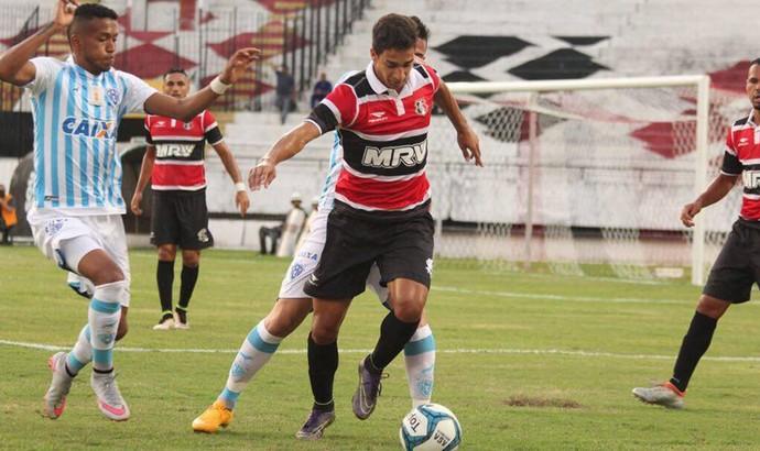 Eduardo Gomes (Dudu), lateral-esquerdo do Santa Cruz (Foto: Divulgação)