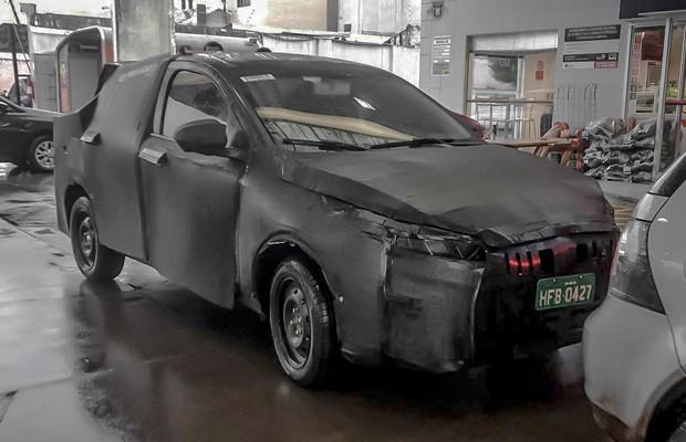 Novo sedã da Fiat é flagrado bem camuflado (Foto: Divulgação)