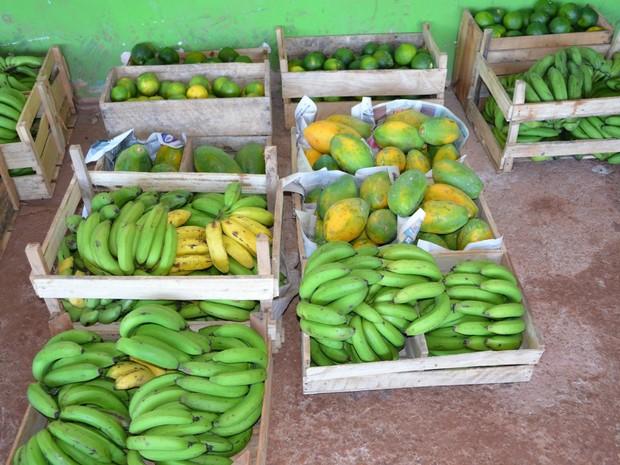 Agricultores cadastrados no programa poderão fornecer os alimentos em 2017 (Foto: Magda Oliveira/G1)