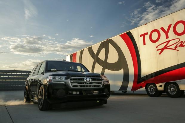 """Toyota Land """"Speed"""" Cruiser supera os 370 km/h e bate recorde nos EUA (Foto: Divulgação)"""