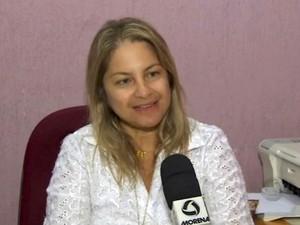 Médica ginecologista e obstetra Débora Faraco Coelho, diz que nascimento de quadrigêmos é muito raro (Foto: Reprodução/TV Morena)