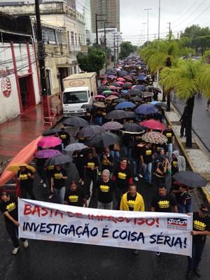 Categoria se diz contrária a participar do Programa de Jornada Extra da Segurança (Foto: Ana Regina / TV Globo)