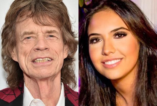 Noor Alfallah é apontada como novo affair de Mick Jagger (Foto: Getty Images e Reprodução)