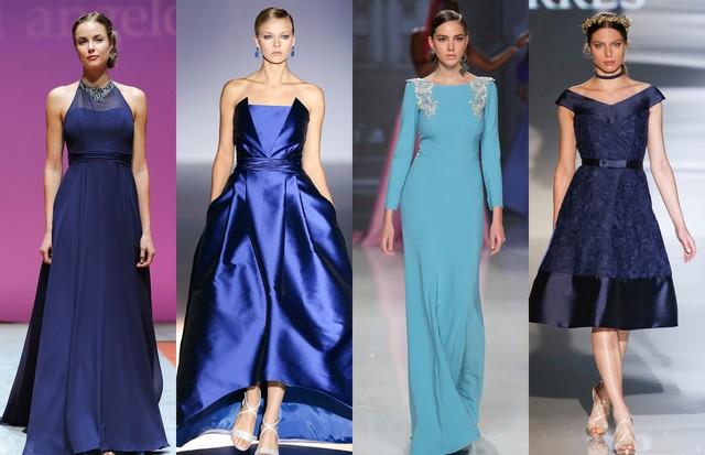 a6c6b7c4e14 Vestidos de madrinhas azuis  15 looks clássicos - Vogue