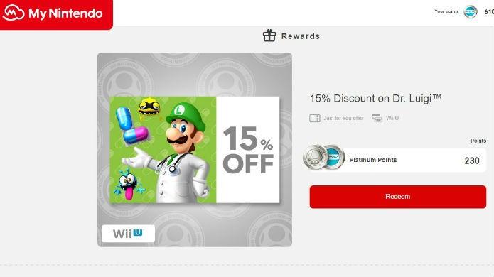 Cada jogo de Wii U no mynintendo tem sua própria exigência de moedas (Foto: Reprodução/Thomas Schulze)