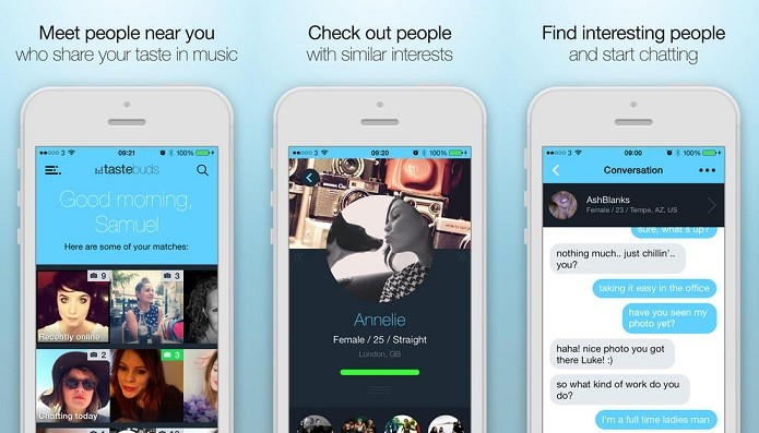 Tastebuds chegou ao iPhone e funciona no Brasil (Foto: Divulgação)