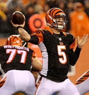 Cincinnati Bengals, quarterback AJ MCCarron (Foto: EFE)