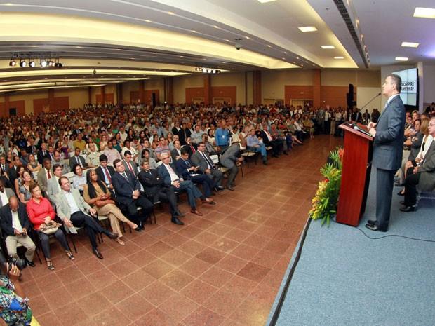 Projeto 'Educar para Transformar' é lançado pelo governo da Bahia (Foto: Manu Dias/GOVBA)