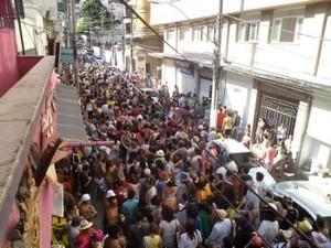 Carnaval de rua atrai foliões às ruas de Vitória (Foto: Divulgação / PMV)