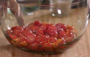 Como fazer vinagrete de tomate