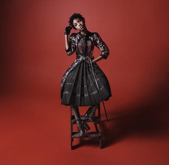 Willow Smith na campanha de Marc Jacobs (Foto: Divulgação)