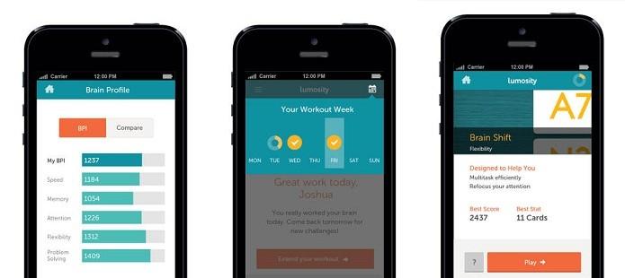 Melhore diversos aspectos do seu cérebro com a ajuda do Lumosity Mobile (Foto: Divulgação/App Store)