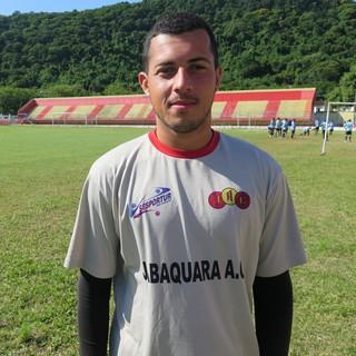 Rogério, goleiro do Jabaquara 2017 (Foto: Antonio Marcos)