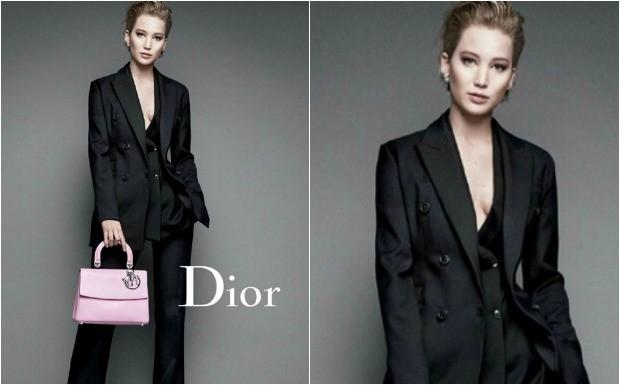 J Law estrela nova campanha da Dior (Foto: Reproduo / Getty Images)