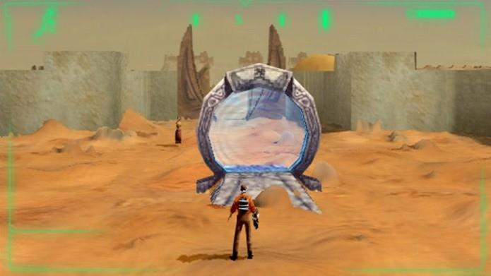 Jogo ambicioso envolvia exploração de ambientes gigantescos (Foto: Reprodução / GOG)