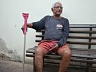 'Não sei como é Dia dos Pais', diz aposentado que mora em asilo no AC