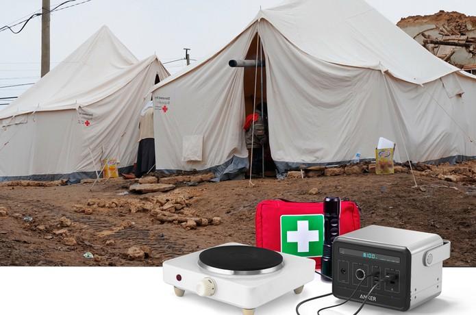 PowerHouse pode ser usada para equipamentos médicos e emergências (Foto: Divulgação/Anker)