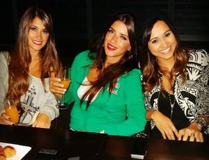 Antonella Roccuzzo, Thaíssa Carvalho e Danielle Seeman (Foto: Reprodução / Instagran)