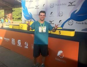 Corrida Eu atleta Fábio (Foto: Arquivo Pessoal)
