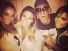 Neymar curte show em Florianópolis