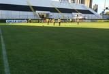 Artilheiro e mais seis jogadores do ABC treinam separados do grupo