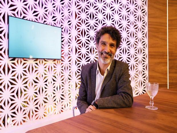 Ivan Martins apresentar o quadro TV Homem (Foto: VIVA)