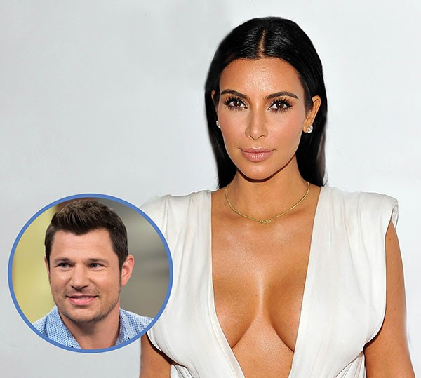Kim Kardashian e Nick Lachey (Foto: Getty Images)